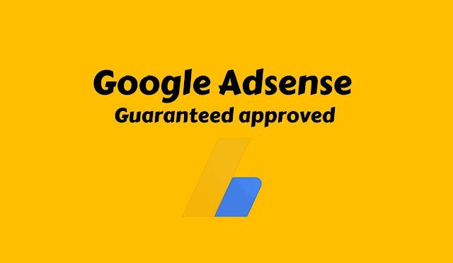 guaranteed approved adsense