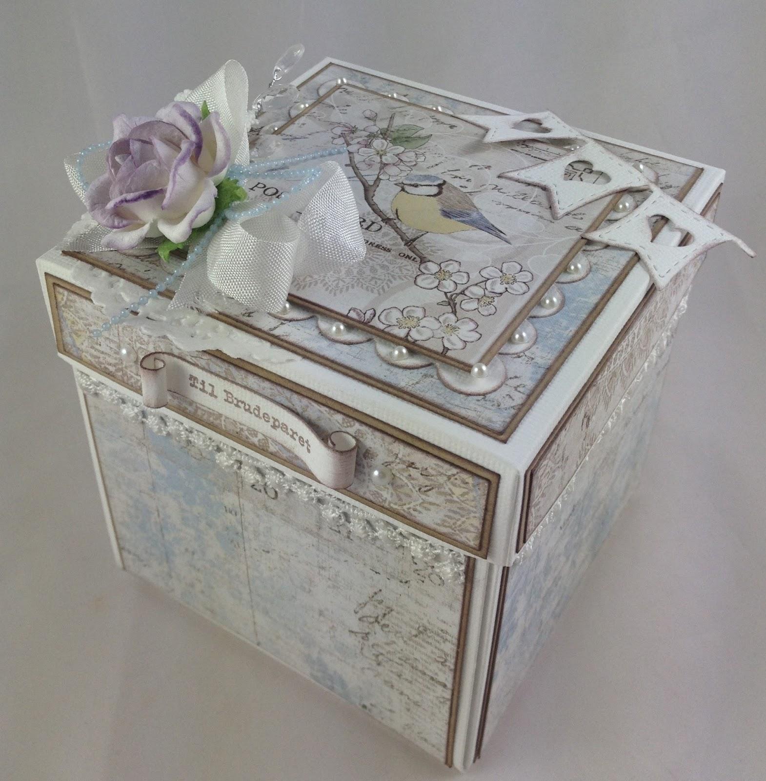532ec596 Kreativ Scrapping Blogg: Tutorial bryllups eksplosjonsboks