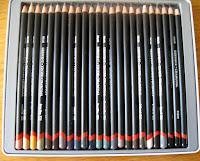 Derwent tinted charcoals