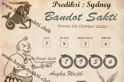 Syair Bandot Sakti Togel Sydney Kamis 22 Oktober 2020