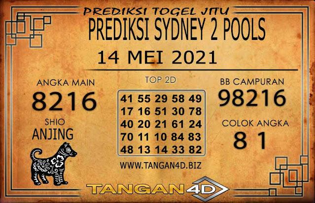PREDIKSI TOGEL SYDNEY2 TANGAN4D 14 MEI 2021
