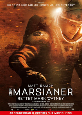 Germany poster of The Martian movie