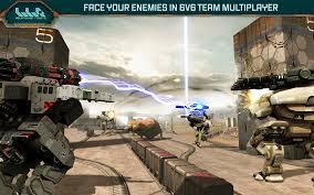 Game War Robots Mod Apk