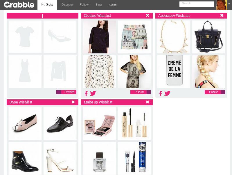 shopping list online
