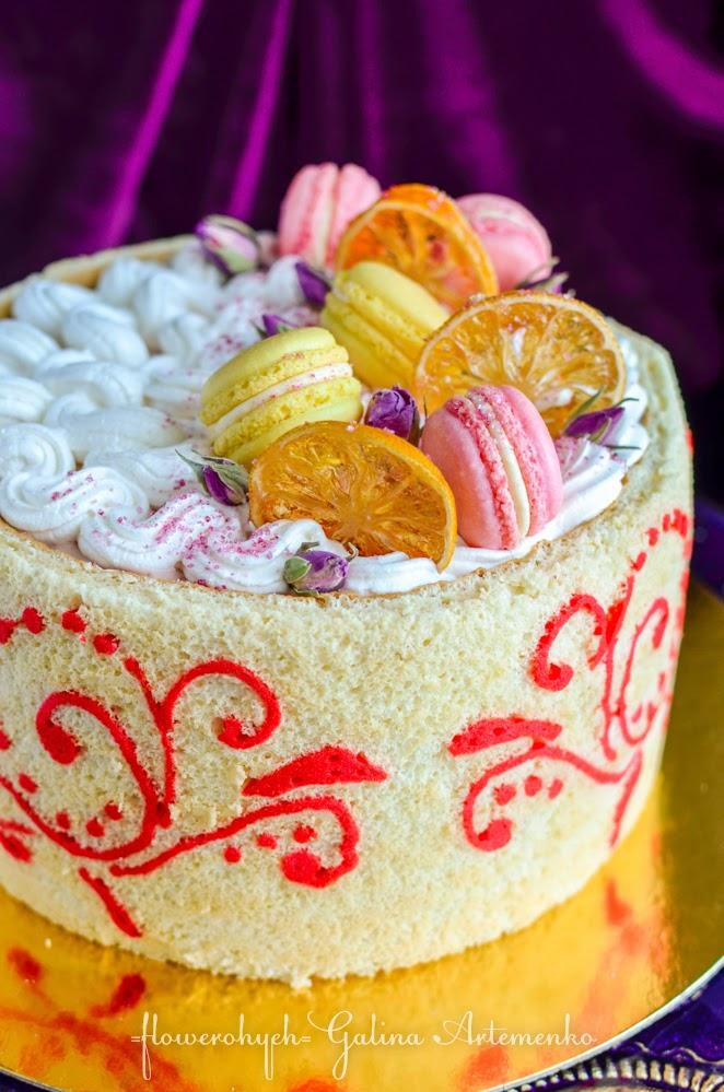 Желированные ягоды на торте фото 8