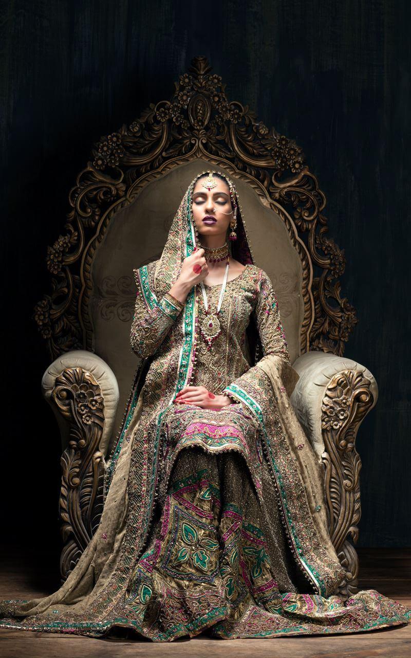 Fahad Hussayn Kashmiri Bridal Couture