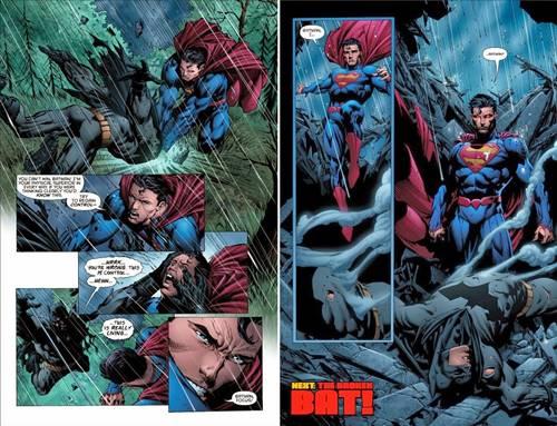 Superman vence a Batman