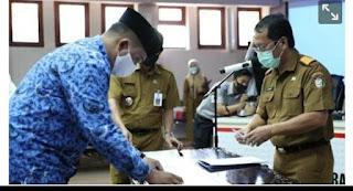 Sekda Kota Makassar Mengangkat Sumpah PNS Sebanyak 461 Orang