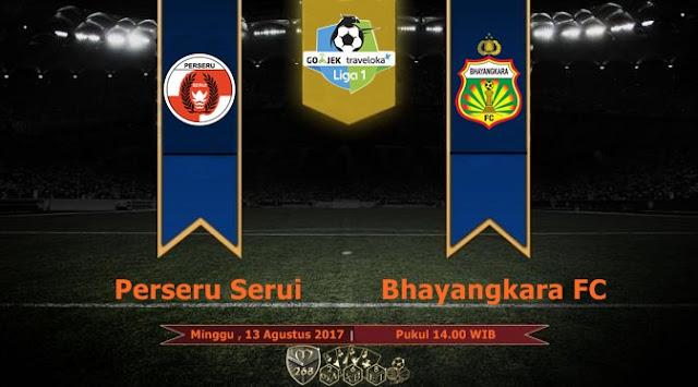 Prediksi Bola : Perseru Serui Vs Bhayangkara FC , Minggu 13 Agustus 2017 Pukul 14.00 WIB