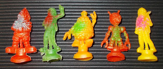Astronauts; Cake Decorations; Carded Astronauts; Carded Robots; Chromium-plated Figures; Culpitt Astronauts; Culpitt BV 5336; Culpitt Spacemen; Culpitt V5217; Culpitt's Cake Decorations; HF; Hong Kong; Jiggling Robots; Large Silver Spacemen; Lik Be; Lik Be LB; Lik Be LP; Moon Platoon; Robot Jigglers; Robots; Rubber Jigglers; Small Assorted Space Figures; Small Scale World; smallscaleworld.blogspot.com; Spacemen; Sucker Toys;