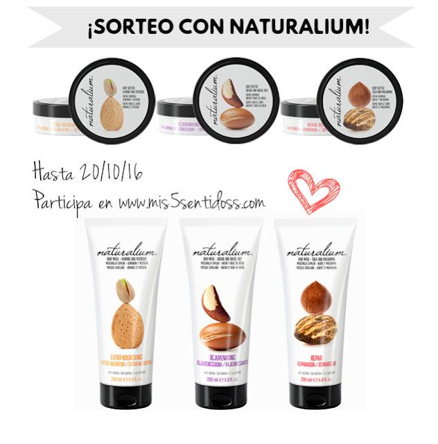 Sorteo con Naturalium : Crema corporal y mascarilla nuts