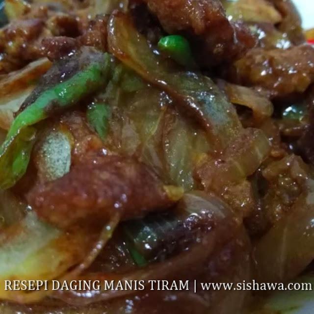 resepi masakan daging ringkas  mudah dimasak  berbuka puasa marina bashah Resepi Bijan Susu Enak dan Mudah
