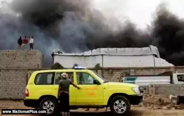خبر عاجل: انفجار يستهدف موكبا لقيادات أمنية فى عدن
