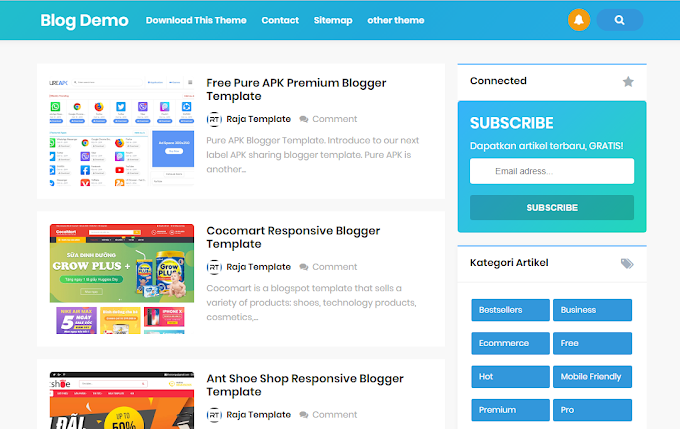 KontenMagz Pro Blogger Template
