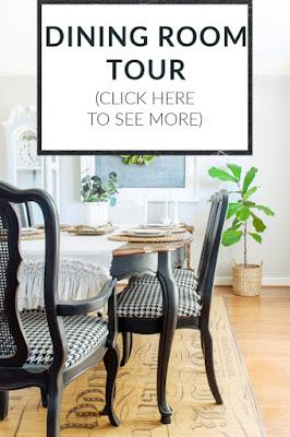 DIY Beautify dining room tour