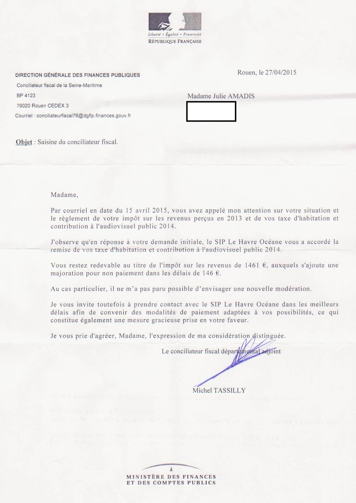 rsa et taxe dhabitation 2015