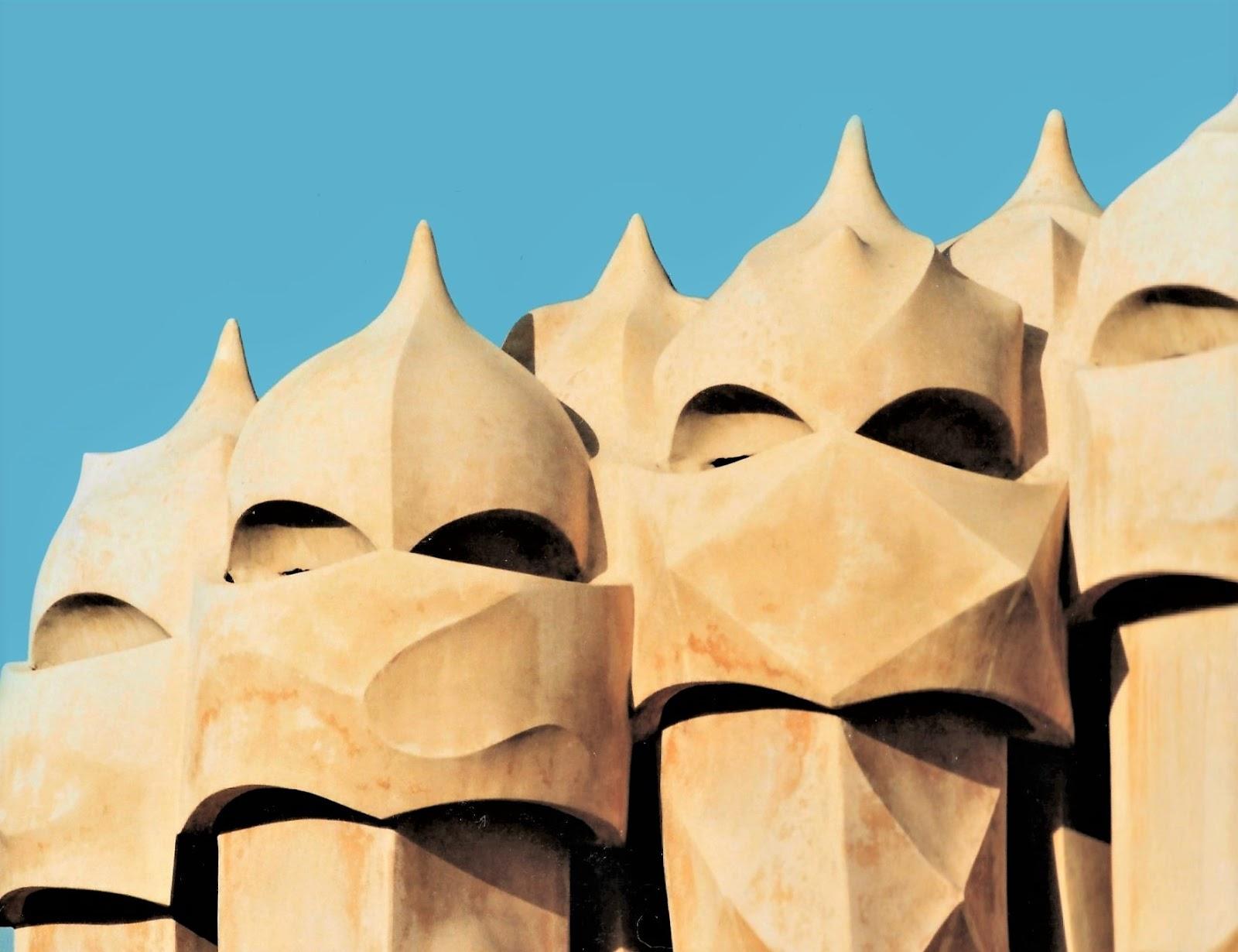 Gaudi's works in Barcelona