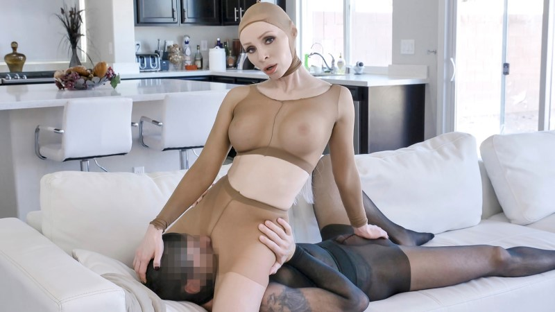 MylfDom – Pantyhose Pussy Play – Natasha James
