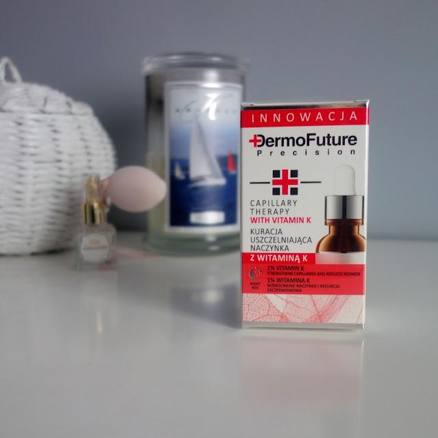 DermoFuture Precision Kuracja uszczelniająca naczynka z witaminą  K