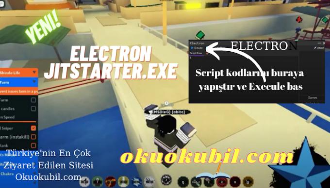 Roblox Electron JITStarter.exe Hile Programı Script kodları Ekle 2021