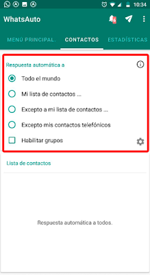 cómo enviar mensajes automáticos en WhatsApp