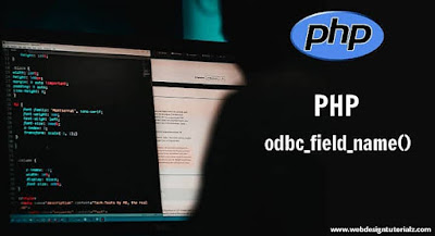 PHP odbc_field_name() Function
