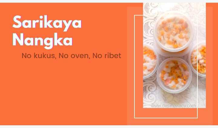 Sarikaya nangka no kukus