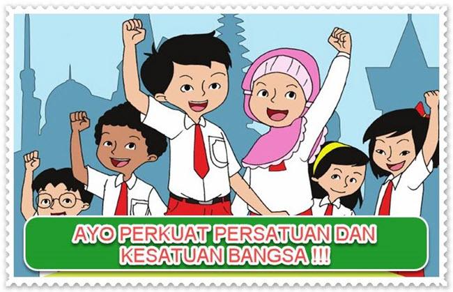 Poster Persatuan dan Kesatuan