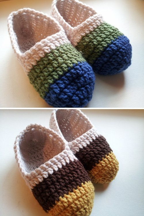 Women's Ballet Slippers - Free Pattern