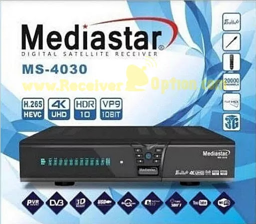 MEDIASTAR MS-4030 NEW SOFTWARE WITH BLUE & BLACK MENU 25 MARCH 2021