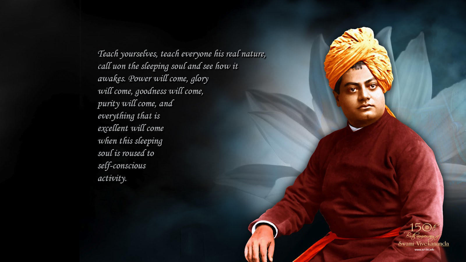 Knowledge Quotes Wallpapers 4k Swami Vivekananda Inspire Wallpapers Download