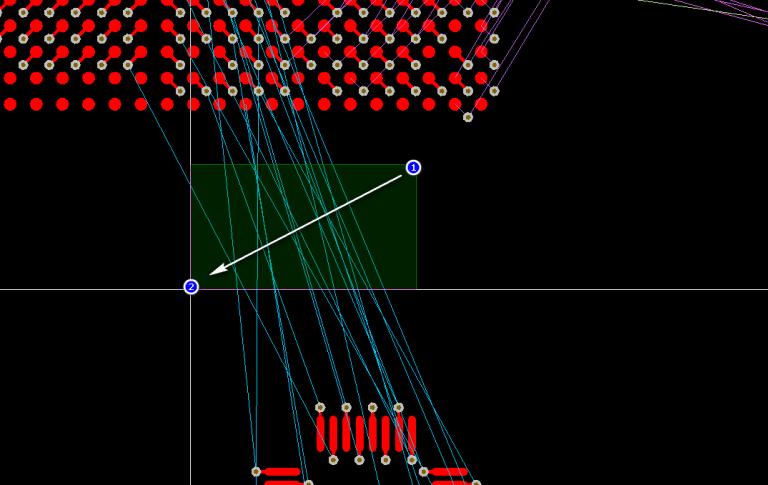 Lựa chọn các net được sử dụng trong ActiveRoute