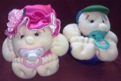 bonecos de pano