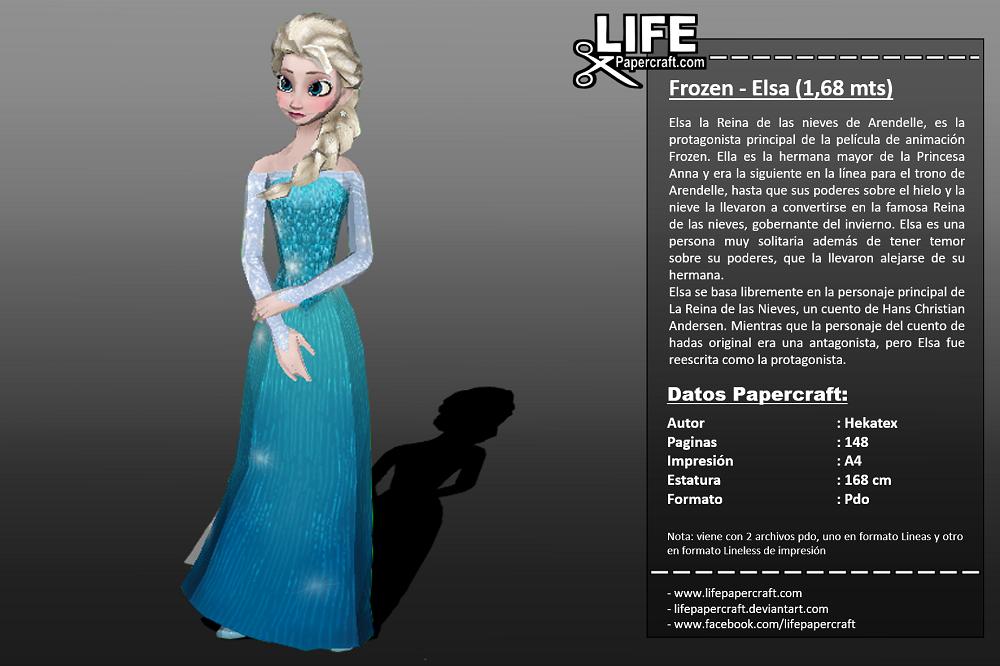 Frozen Elsa - 1,68 mts