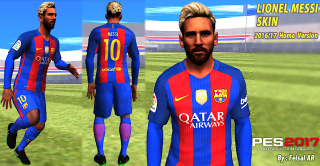 lionel messi barca home kit 2016 2017 gta sa skin mod