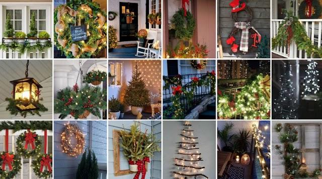 Ιδέες χριστουγεννιάτικου ΣΤΟΛΙΣΜΟΥ για ΜΠΑΛΚΟΝΙΑ