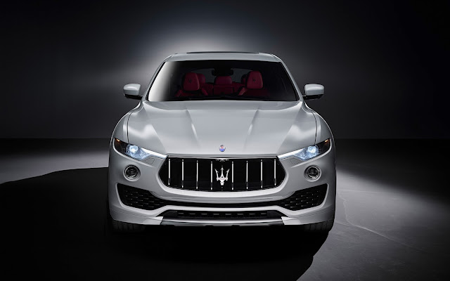 New Maserati Levante S SUV front look