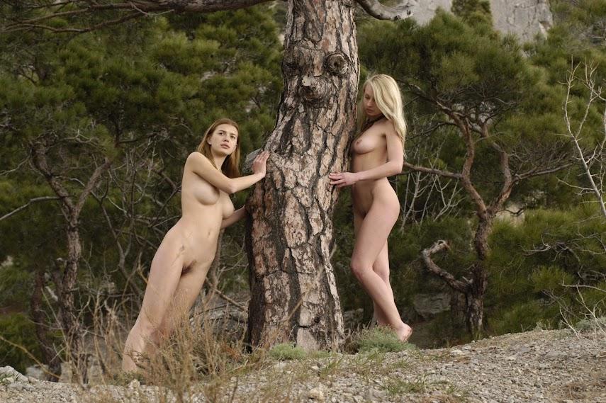 Met-Art 20041022 - Sharon E & Ira A & Ulya A - Domina, The Photoshoot - by Voronin