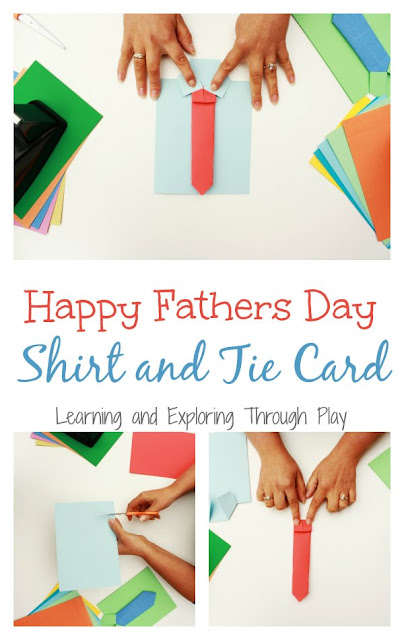 Shirt and Tie Fathers Day Card