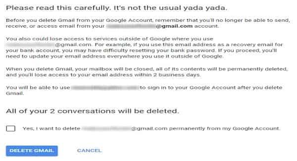 كيف احذف حساب جوجل {Delete google account}