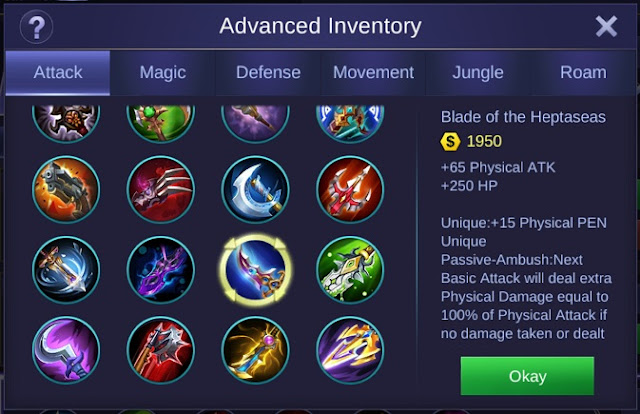 Deadly Blade Mobile Legends (New)