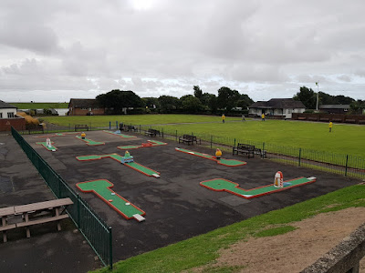 A view of the Fairhaven Lake Crazy Golf course in August 2018