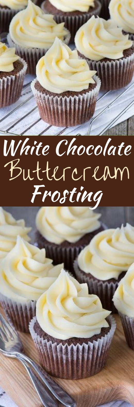 White Chocolate Buttercream #cake #frosting