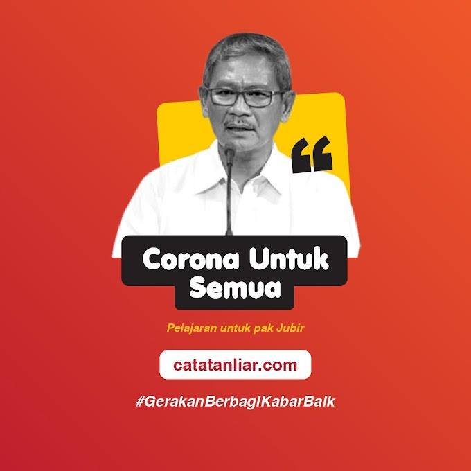 Corona untuk Semua Kelas Sosial
