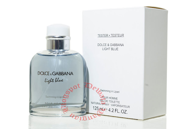 Dolce & Gabbana Light Blue Swimming in Lipari Tester Perfume