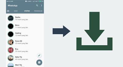 Cara Download Foto atau Video dari Status Whatsapp Orang Lain