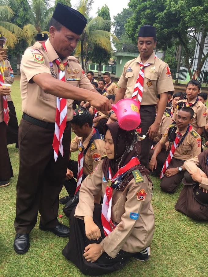 Pasiter Kodim 0508/Depok Pimpin Upacara Adat Pelantikan SWK