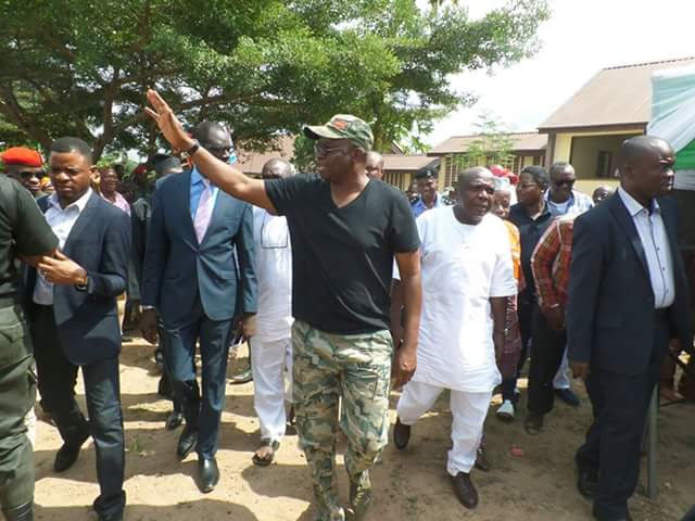 Fayose: FG using 21 Chibok girls' release to divert attention from recession