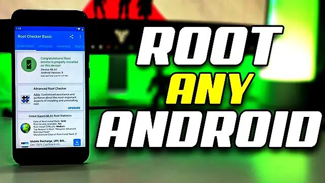 عمل روت root لأي هاتف مهما كان نوعه لجميع اصدارات الاندرويد