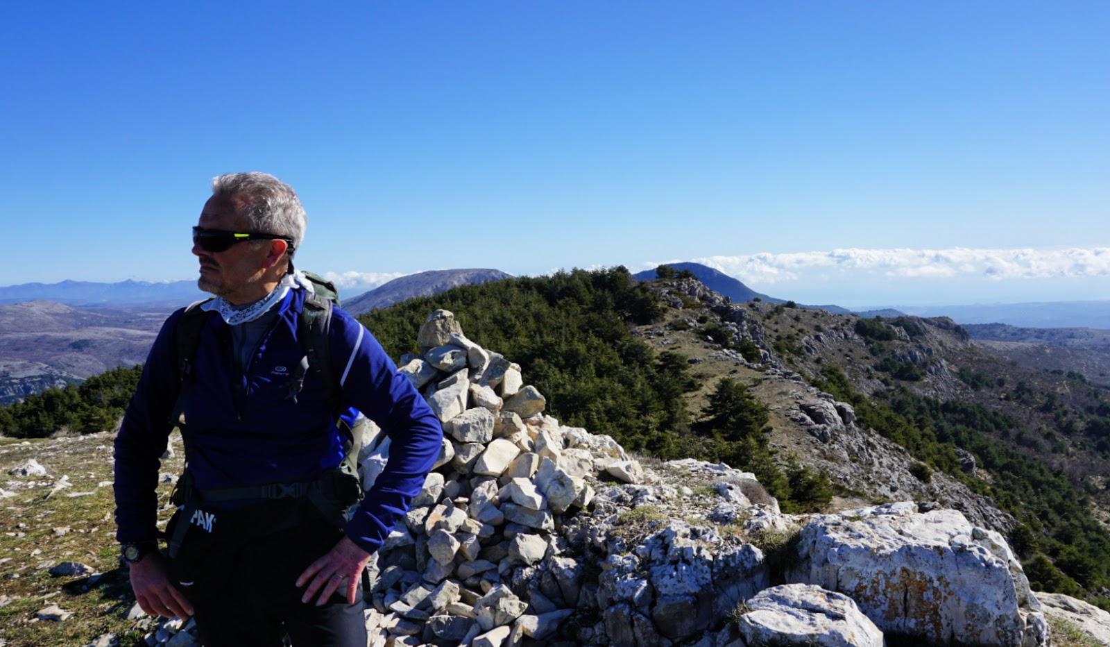 Colle de Rougiès summit